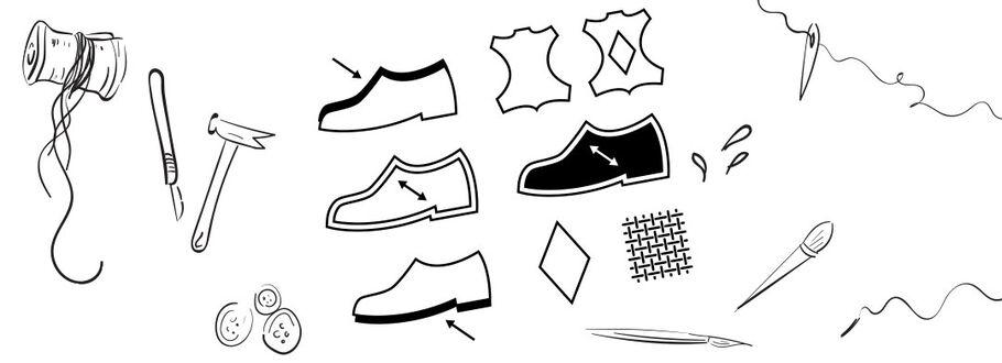 Waar is je schoen van gemaakt? Een lesje materiaalsoorten herkennen