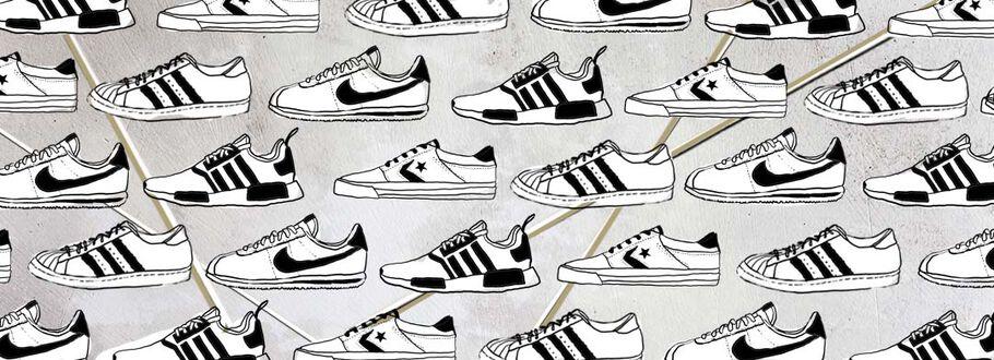 Het verhaal achter de grote schoenenfavoriet a.k.a. de sneaker