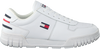 Witte TOMMY HILFIGER Lage sneakers ESSENTIAL RETRO  - small