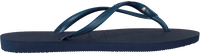 Blauwe HAVAIANAS Slippers SLIM CRYSTAL GLAMOUR  - medium