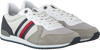 TOMMY HILFIGER Baskets basses ICONIC RUNNER en gris  - small