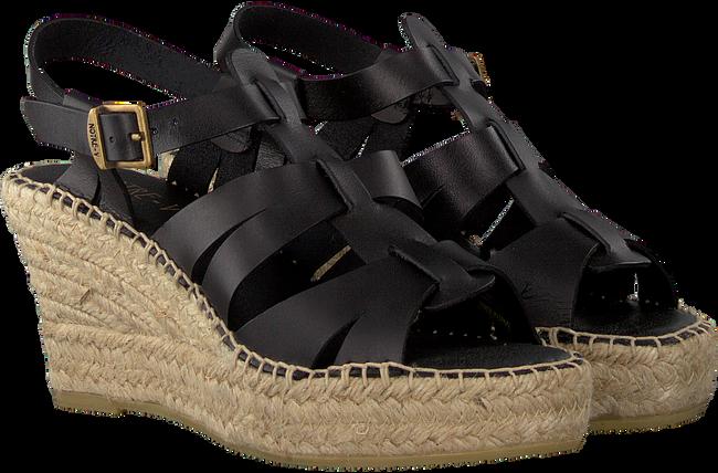 NOTRE-V Sandales OM02-02 en noir  - large