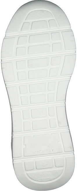 WOMSH Baskets basses VEGAN en blanc  - large