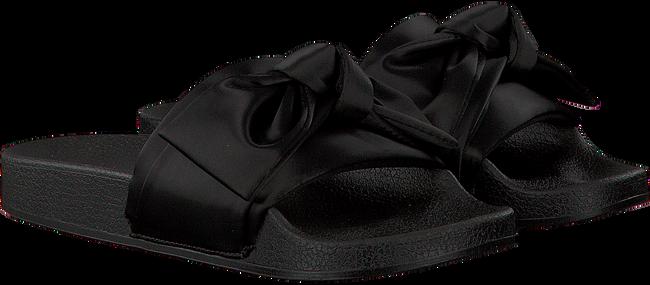 Zwarte STEVE MADDEN Slippers SILKY  - large