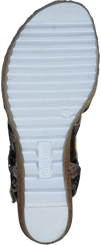 GABOR Sandales 832 en gris  - larger