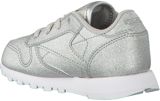 REEBOK Baskets CL LEATHER KIDS en argent - large
