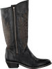 Zwarte CATARINA MARTINS Cowboylaarzen BENDITA ZIP HIGH  - small