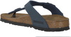 BIRKENSTOCK PAPILLIO Tongs GIZEH KIDS en bleu - small