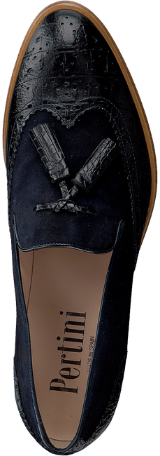 PERTINI Loafers 11975 en bleu  - large