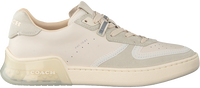 Witte COACH Lage sneakers ADB SUEDE-LEATHER COURT  - medium
