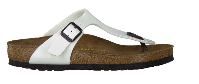 Witte BIRKENSTOCK PAPILLIO Slippers GIZEH  - large