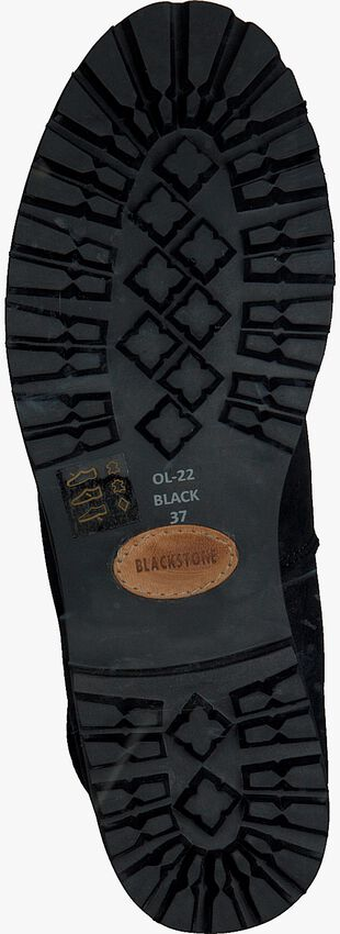 Zwarte BLACKSTONE Veterboots OL22  - larger