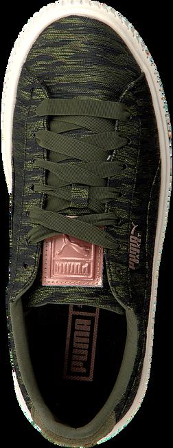 1f0f4086d37 Groene PUMA Sneakers BASKET PLATFORM VR - Omoda.be