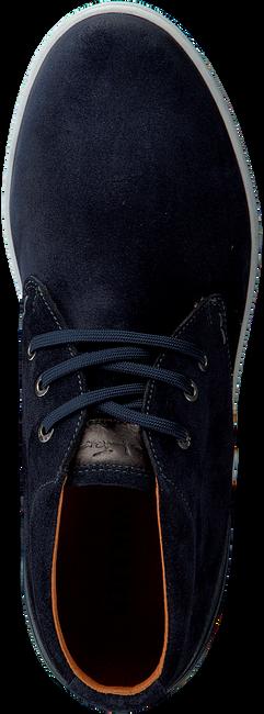 VAN LIER Chaussures à lacets 7287 en bleu - large