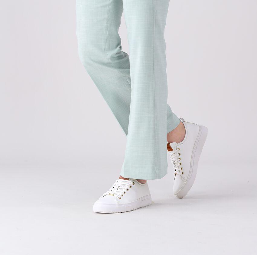 white BLACKSTONE shoe PL97  - larger