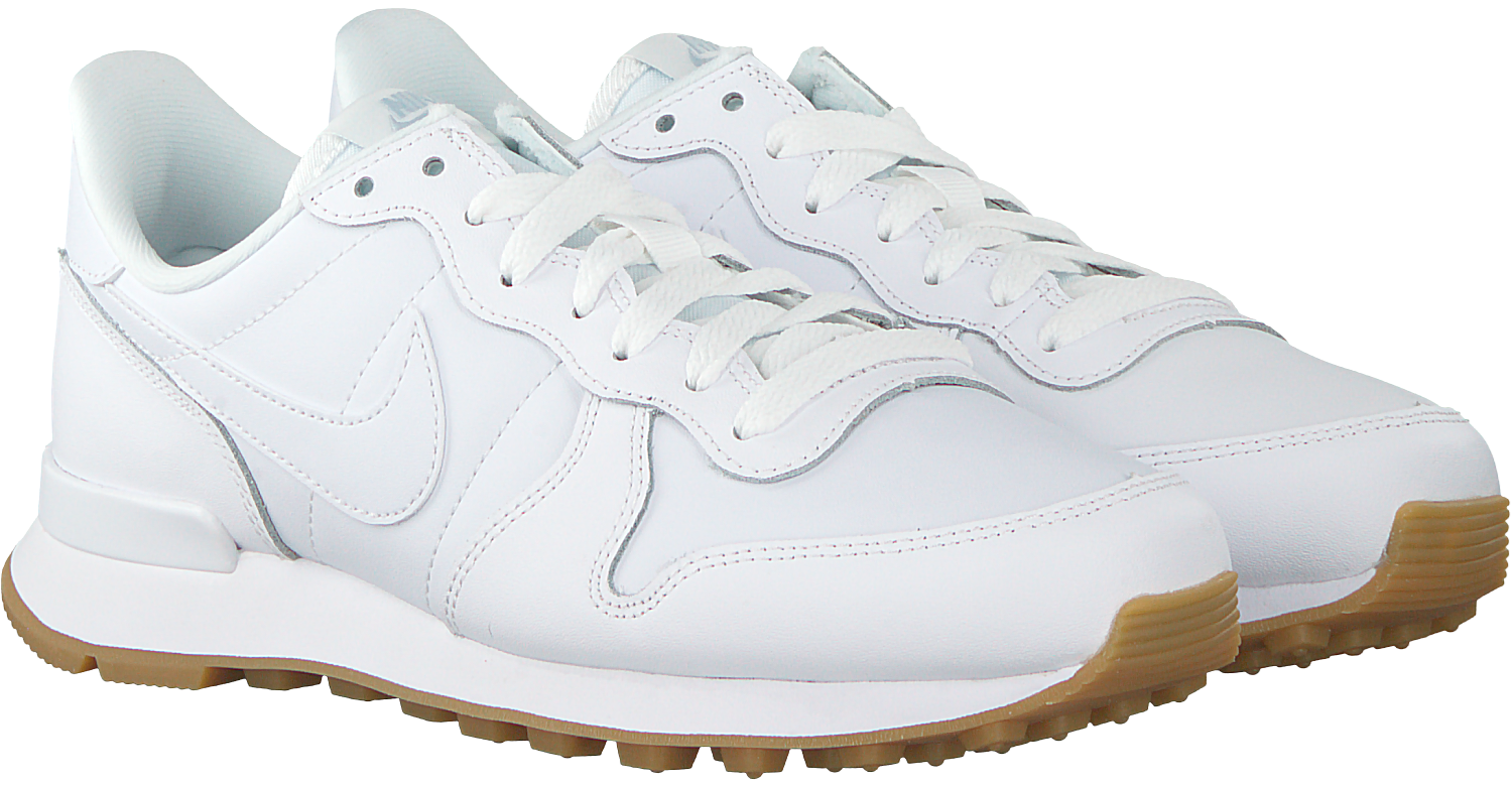witte nike internationalist