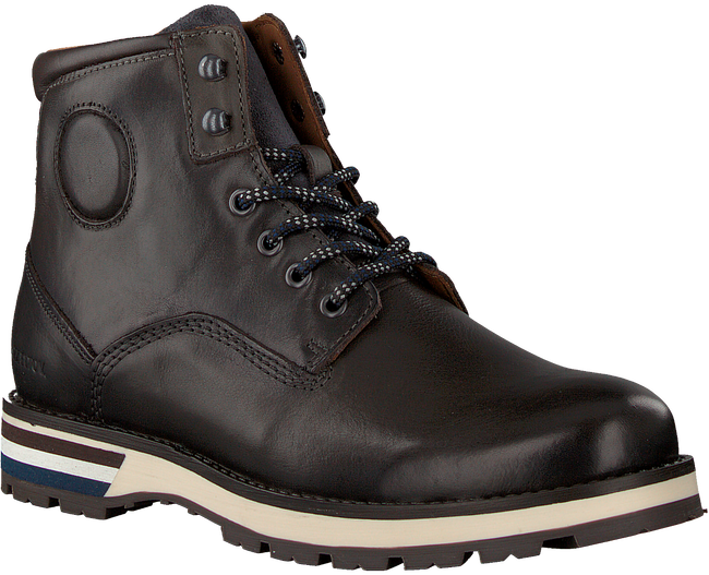 MAZZELTOV Chaussures à lacets MMONTE605.02OMO1 en gris  - large