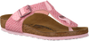 BIRKENSTOCK PAPILLIO Tongs GIZEH KIDS en rose - small