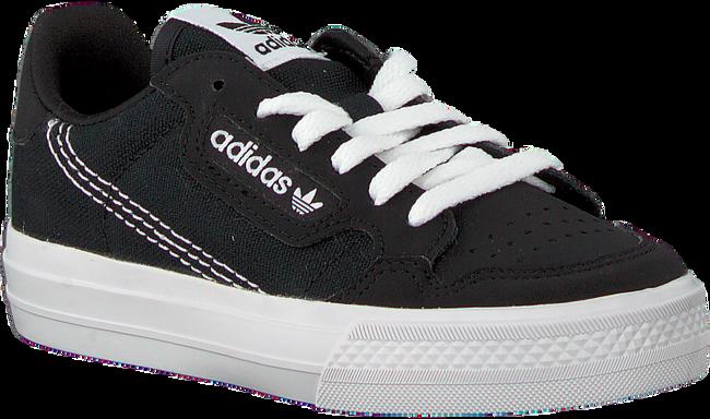 Zwarte ADIDAS Lage sneakers CONTINENTAL VULC C  - large