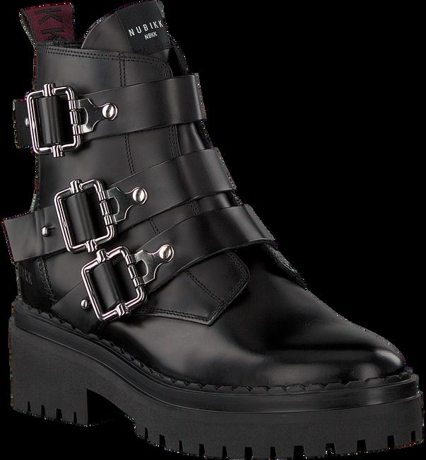 Zwarte NUBIKK Biker boots FAE BUCKLE  - large