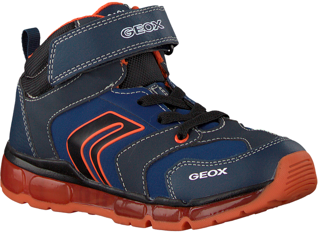 GEOX Baskets J8444B en bleu - large