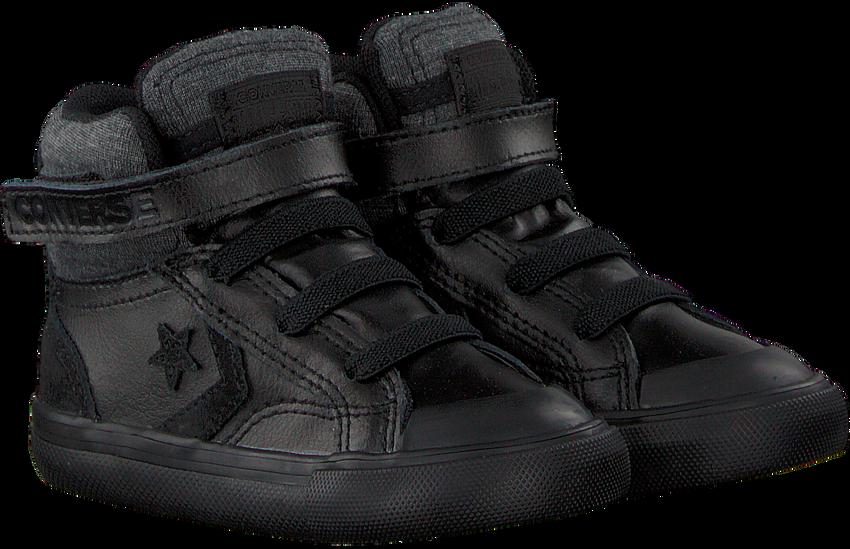 CONVERSE Baskets PRO BLAZE STRAP HI KIDS en noir - larger