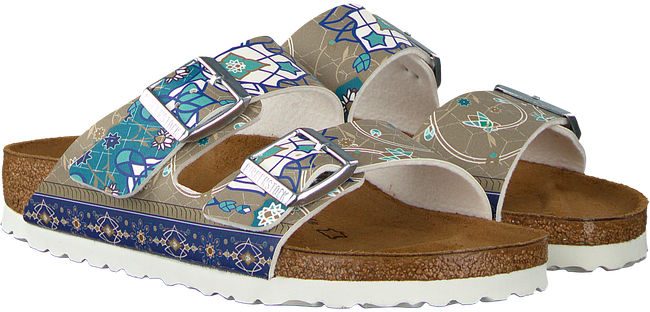 taupe BIRKENSTOCK PAPILLIO shoe ARIZONA ANCIENT MOSAIC  - large