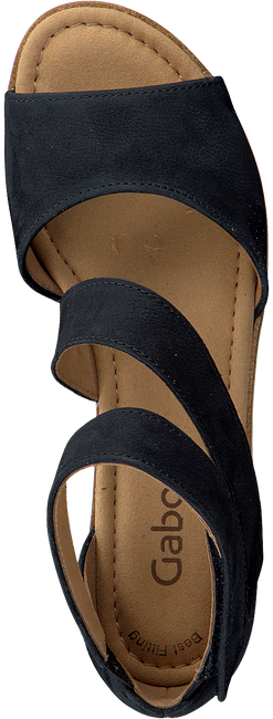 GABOR Sandales 582 en bleu - large
