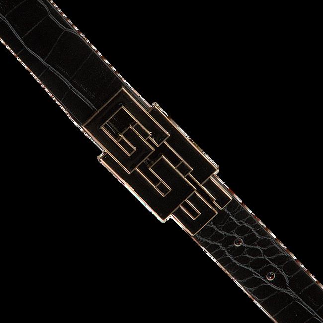 Zwarte GUESS Riem TRIPLE G ADJUSTABLE PANT BELT  - large