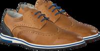 CYCLEUR DE LUXE Chaussures à lacets PULSANO en cognac  - medium