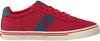 POLO RALPH LAUREN Baskets HANFORD en rouge - small