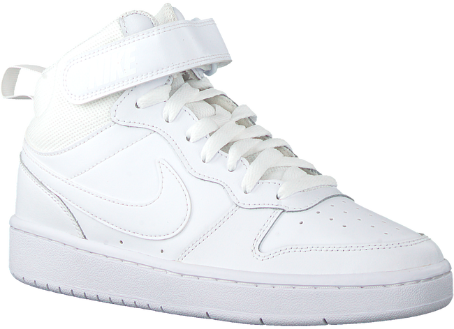 NIKE Baskets montantes COURT BOROUGH MID 2 (GS) en blanc  - large