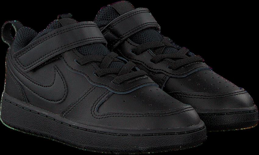 Zwarte NIKE Hoge Sneaker COURT BOROUGH LOW 2 (TDV) - larger