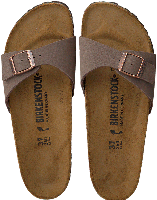 BIRKENSTOCK PAPILLIO Tongs MADRID en marron - large