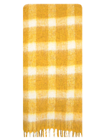 BECKSONDERGAARD Foulard ISOBELL SCARF en jaune  - medium