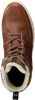 Cognac BJORN BORG Sneakers COLLIN HIGH  - small