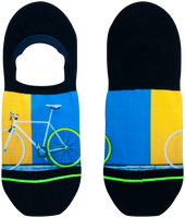 XPOOOS Chaussettes BIKE en multicolore  - medium