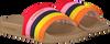 Meerkleurige VINGINO Badslippers EVI  - small