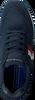 TOMMY HILFIGER Baskets basses CORPORATE RUNNER en bleu  - small