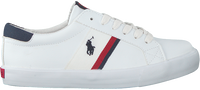 POLO RALPH LAUREN Baskets basses GAFFNEY en blanc  - medium