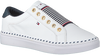 Witte TOMMY HILFIGER Lage sneakers TOMMY ELASTIC CITY  - small