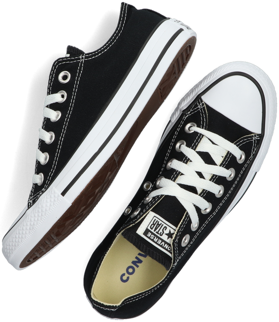 Zwarte CONVERSE Sneakers CHUCK TAYLOR ALL STAR OX DAMES - large