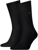 TOMMY HILFIGER Chaussettes 371111 en noir - medium