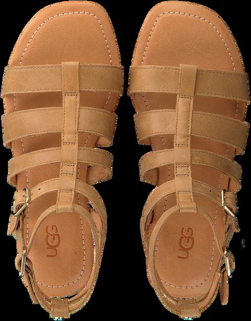 UGG Sandales W MAHALLA en marron  - large