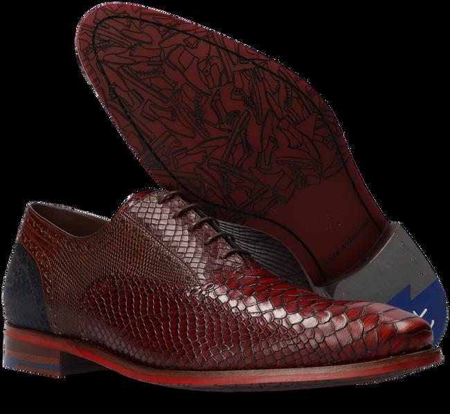 Cognac FLORIS VAN BOMMEL Nette schoenen 19104 - large