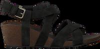 Zwarte TEVA Sandalen W MAHONIA WEDGE CROSS  - medium