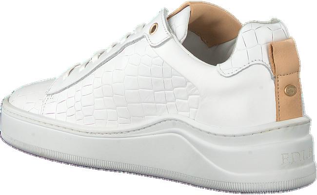 FRED DE LA BRETONIERE Baskets basses 101010125 FRS0626 en blanc  - large