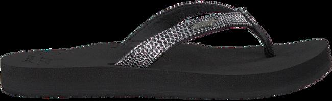 Zwarte REEF Slippers STAR CUSHION SASSY  - large