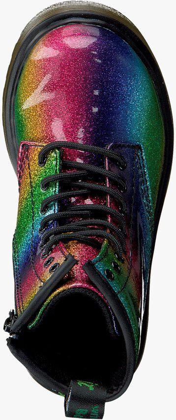DR MARTENS Bottines à lacets 1460 GLITTER PATENT J en multicolore  - larger