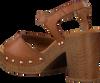 UNISA Sandales TACO en marron  - small